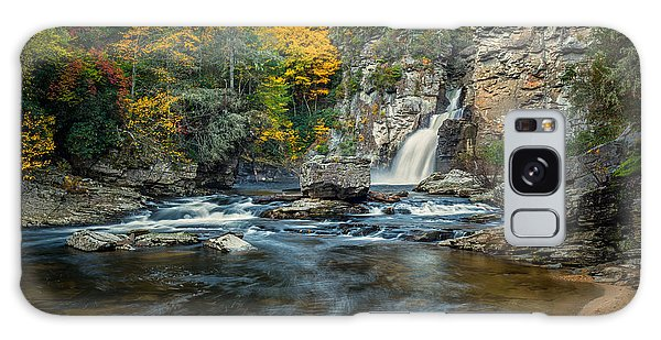Autumn At Linville Falls - Linville Gorge Blue Ridge Parkway Galaxy Case