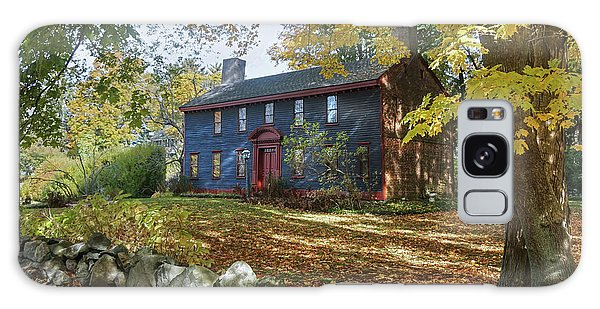 Autumn At Short House Galaxy Case