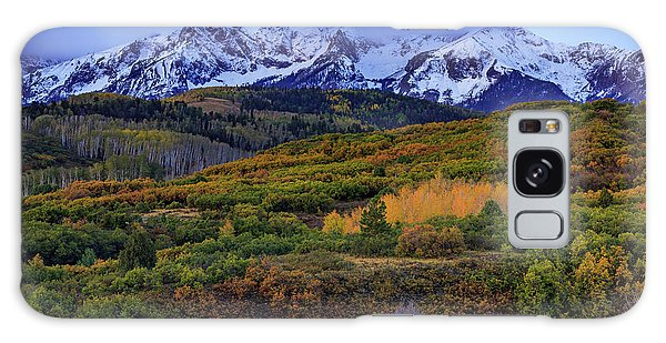Autumn At The Dallas Divide Galaxy Case