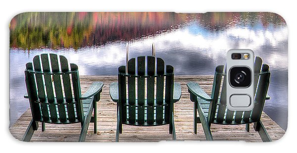 Galaxy Case featuring the photograph Autumn At The Lake by David Patterson
