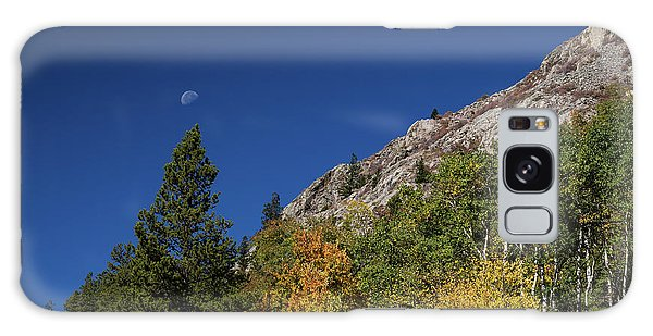 Galaxy Case featuring the photograph Autumn Bella Luna by James BO Insogna