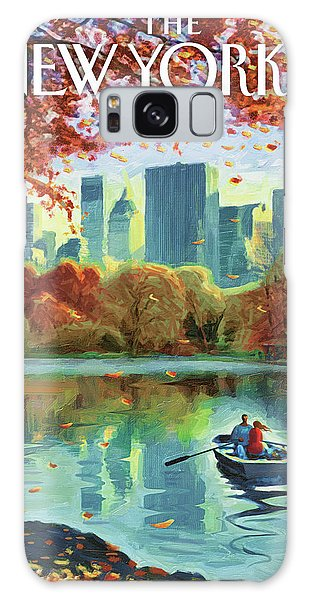 Autumn Central Park Galaxy Case