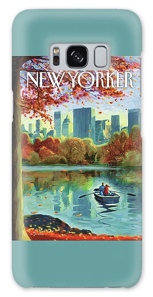 Autumn Central Park Galaxy S8 Case
