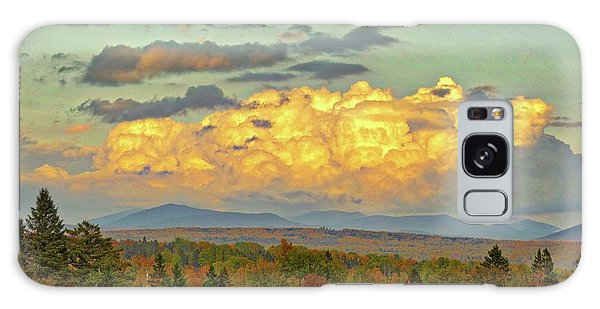 Autumn Clouds Over Maine Galaxy Case