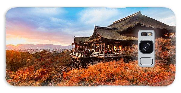 Kansai Galaxy Case - Autumn Color At Kiyomizu-dera Temple In by Luciano Mortula - Lgm
