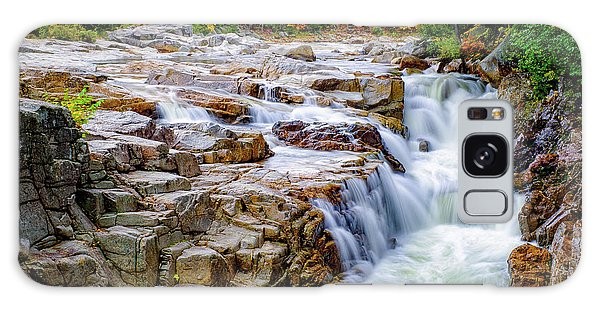 Autumn Color At Rocky Gorge Galaxy Case