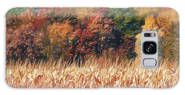 Autumn Cornfield Galaxy Case