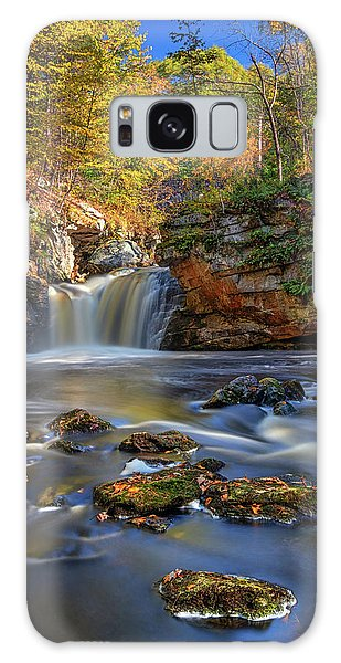 Autumn Day At Doane's Falls Galaxy Case