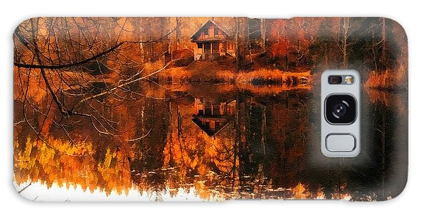 Olive Branch Galaxy Case - Autumn Dreams Reflected L A S  by Gert J Rheeders