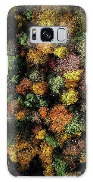 Sweden Galaxy Case - Autumn Forest - Aerial Photography by Nicklas Gustafsson