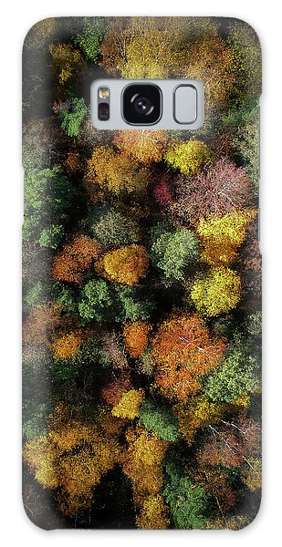 Foliage Galaxy Case - Autumn Forest - Aerial Photography by Nicklas Gustafsson