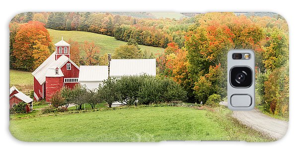 Galaxy Case featuring the photograph Autumn From The Bogie Mountain Farm - Vermont by Expressive Landscapes Fine Art Photography by Thom