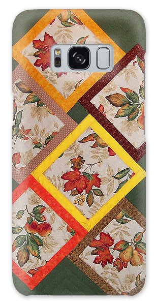 Autumn Fruit And Leaves Galaxy Case