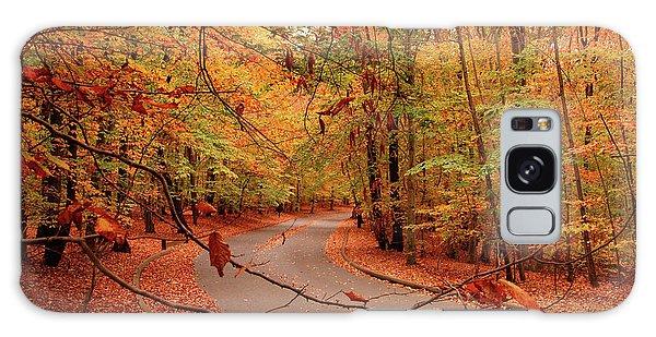 Autumn In Holmdel Park Galaxy Case