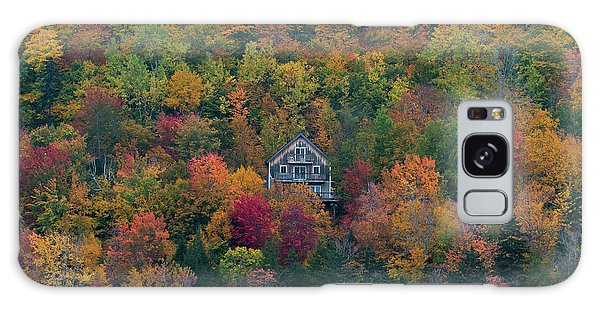 Autumn In Maine Galaxy Case