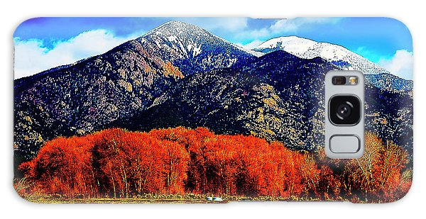 Autumn In Taos New Mexico Galaxy Case