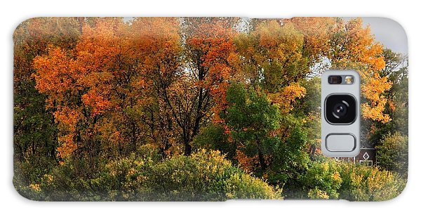 Autumn Is Nigh  Galaxy Case