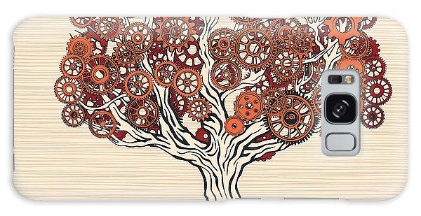 Metal Leaf Galaxy Case - Autumn Mechanics by Ryger