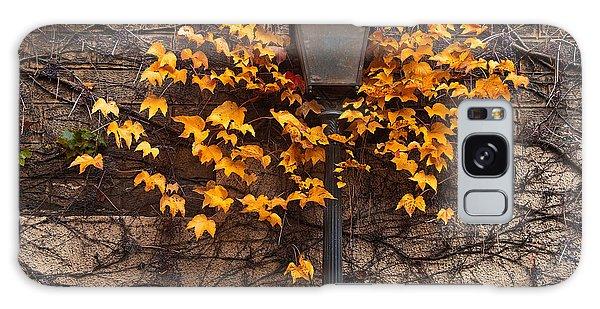 Bright Colors Galaxy Case - Autumn Street Lamp. Paris. Montmartre by Artens