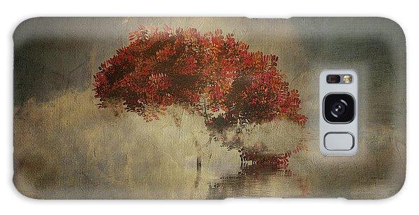 Autumn Tree In The Mist Galaxy Case