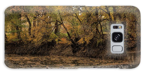 Galaxy Case featuring the photograph Autumn Waterfall by Scott Bean