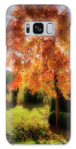 Galaxy Case featuring the photograph Autumnal Glory by Edmund Nagele