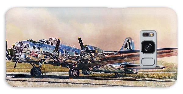 B-17g Sentimental Journey Galaxy Case