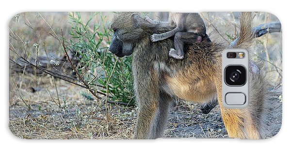 Baboon And Baby Galaxy Case