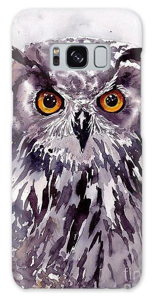 Skull Galaxy Case - Baby Owl by Suzann Sines