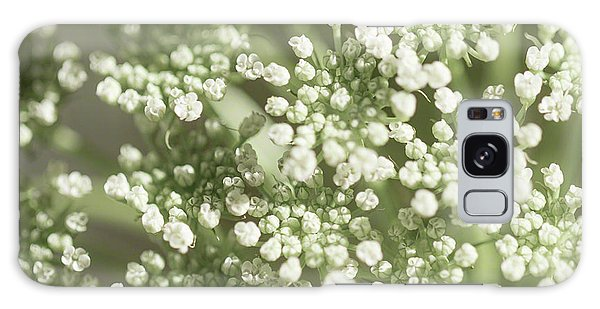 Galaxy Case featuring the photograph Babys Breath 1308 by Mark Shoolery