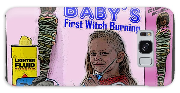 Baby's First Witch Hunt Galaxy Case