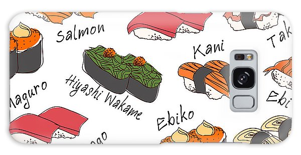 Eggs Galaxy Case - Background Sushi Set, Vector by Wanpatsorn