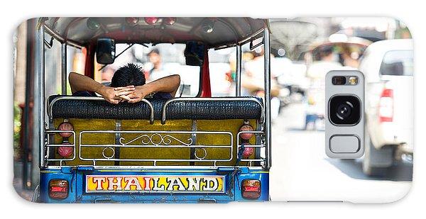 Motor City Galaxy Case - Backside Tuktuk Thailand Car Scooter by Nengloveyou