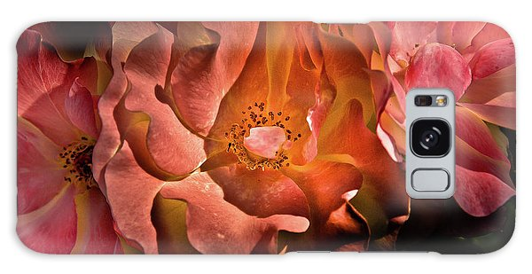 Backyard Flowers 40 Color Version Galaxy Case