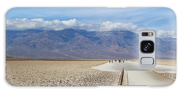 Southwest Usa Galaxy Case - Badwater In Death Valley National Park by Marimarkina