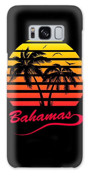 Bahamas Galaxy Case - Bahamas Sunset by Filip Hellman