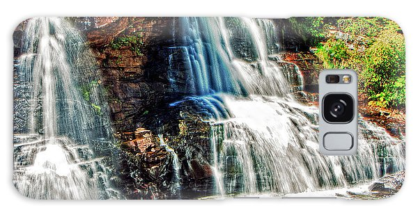 Balckwater Falls - Closeup Galaxy Case