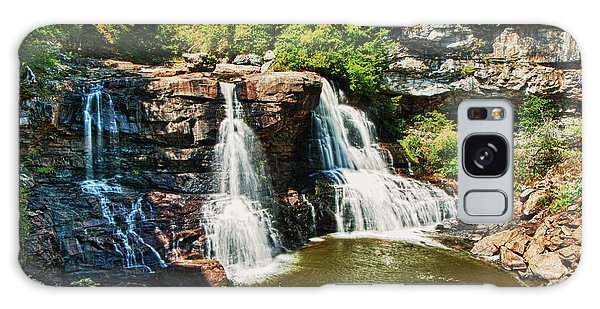 Balckwater Falls - Wide View Galaxy Case