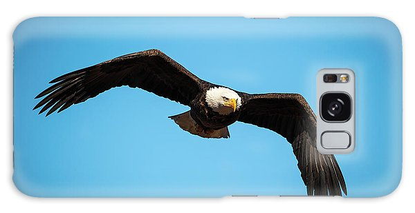 Bald Eagle In Flight  Galaxy Case