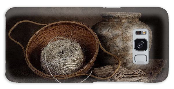 Basket Galaxy Case - Ball Of Twine by Tom Mc Nemar