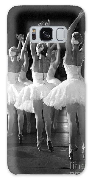 Ballerina Galaxy Case - Ballerinas On The Stage by Anna Jurkovska