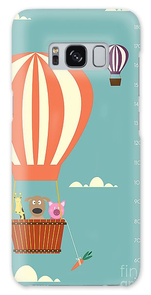 Card Galaxy S8 Case - Balloon Cartoons ,meter Wall Or Height by Isaree