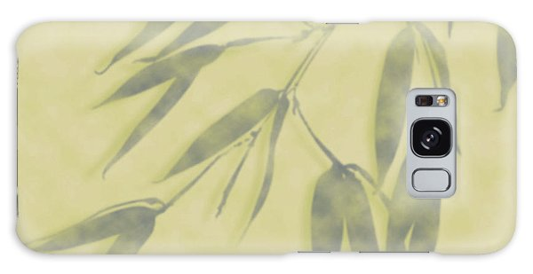 Galaxy Case featuring the photograph Bamboo Leaves 0580b by Mark Shoolery