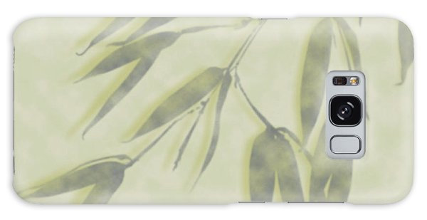 Bamboo Leaves 0580c Galaxy Case