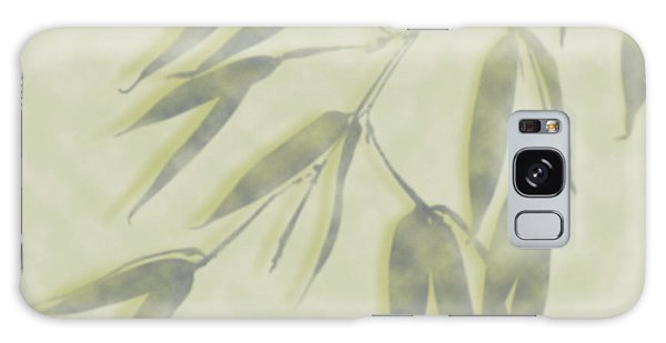 Galaxy Case featuring the photograph Bamboo Leaves 0580c by Mark Shoolery
