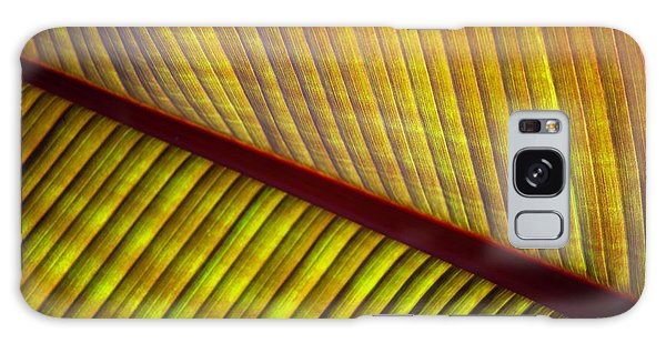 Banana Leaf 8602 Galaxy Case