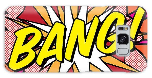 Artwork Galaxy Case - Bang by Gary Grayson
