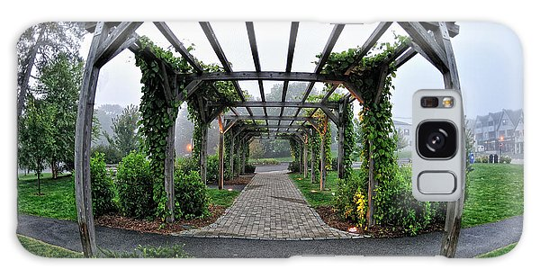 Bar Harbor Pergola Galaxy Case