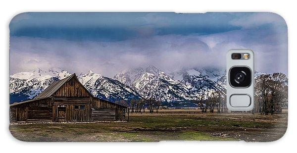 Barn At Mormon Row Galaxy Case