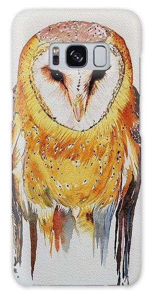 Barn Owl Drip Galaxy Case